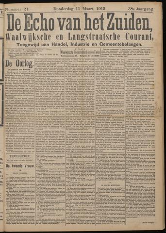Echo van het Zuiden 1915-03-11