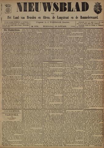 Nieuwsblad het land van Heusden en Altena de Langstraat en de Bommelerwaard 1894-01-10