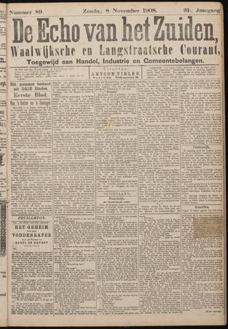 Echo van het Zuiden 1908-11-08