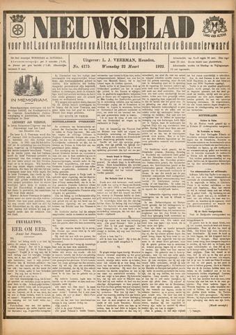 Nieuwsblad het land van Heusden en Altena de Langstraat en de Bommelerwaard 1922-03-22