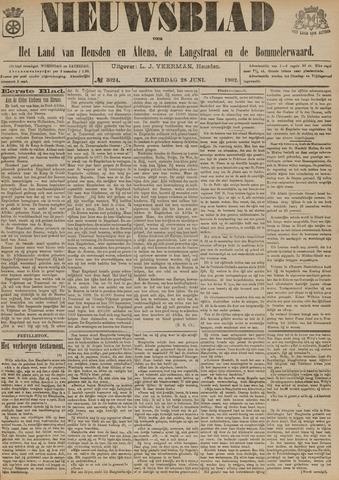 Nieuwsblad het land van Heusden en Altena de Langstraat en de Bommelerwaard 1902-06-28