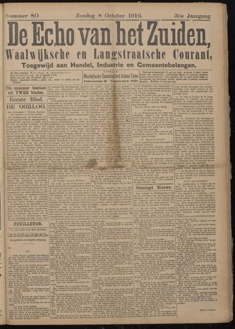 Echo van het Zuiden 1916-10-12