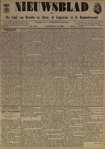 Nieuwsblad het land van Heusden en Altena de Langstraat en de Bommelerwaard 1894-05-23
