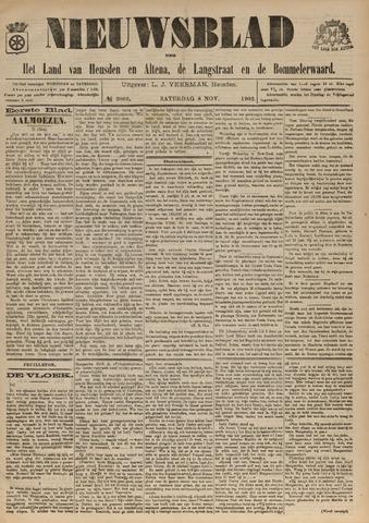 Nieuwsblad het land van Heusden en Altena de Langstraat en de Bommelerwaard 1902-11-08