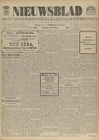 Nieuwsblad het land van Heusden en Altena de Langstraat en de Bommelerwaard 1920-10-23