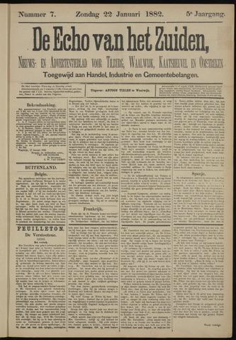 Echo van het Zuiden 1882-01-22