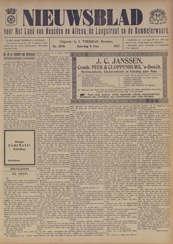 Nieuwsblad het land van Heusden en Altena de Langstraat en de Bommelerwaard 1917-06-02