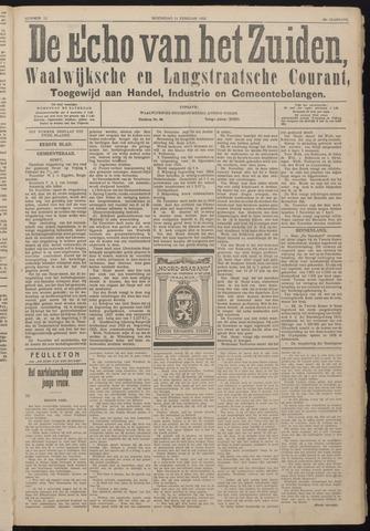 Echo van het Zuiden 1925-02-11