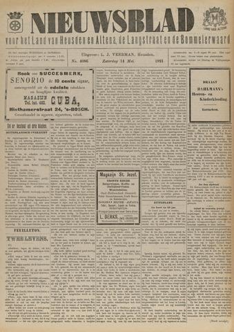 Nieuwsblad het land van Heusden en Altena de Langstraat en de Bommelerwaard 1921-05-14
