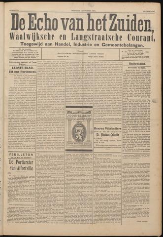 Echo van het Zuiden 1922-11-01
