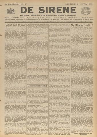 De Sirene 1946-04-11