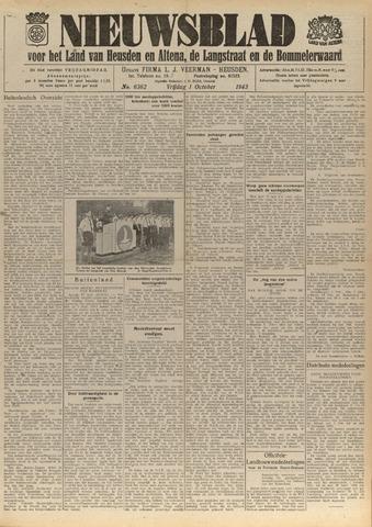 Nieuwsblad het land van Heusden en Altena de Langstraat en de Bommelerwaard 1943-10-01
