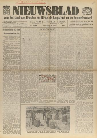 Nieuwsblad het land van Heusden en Altena de Langstraat en de Bommelerwaard 1941-04-09