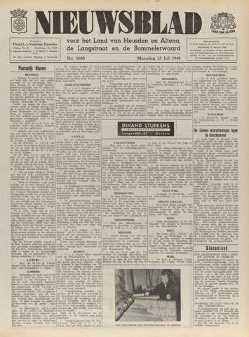 Nieuwsblad het land van Heusden en Altena de Langstraat en de Bommelerwaard 1949-07-25