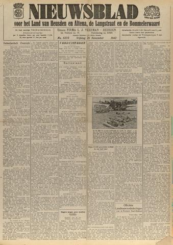 Nieuwsblad het land van Heusden en Altena de Langstraat en de Bommelerwaard 1943-11-26