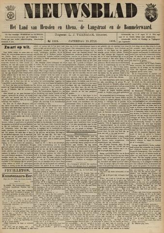 Nieuwsblad het land van Heusden en Altena de Langstraat en de Bommelerwaard 1893-07-15