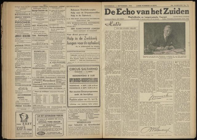 Echo van het Zuiden 1946-09-05