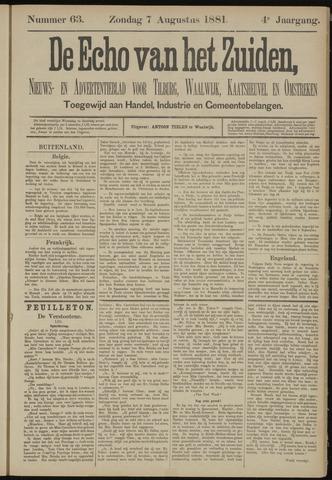 Echo van het Zuiden 1881-08-07