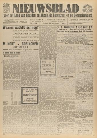 Nieuwsblad het land van Heusden en Altena de Langstraat en de Bommelerwaard 1932-08-12