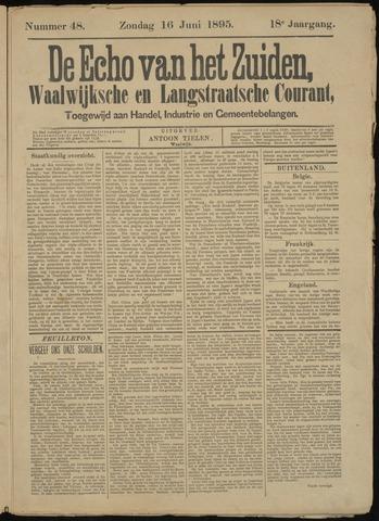 Echo van het Zuiden 1895-06-16