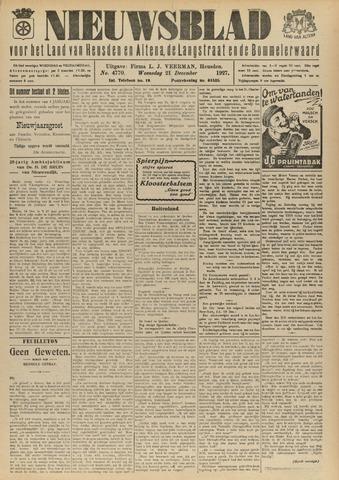 Nieuwsblad het land van Heusden en Altena de Langstraat en de Bommelerwaard 1927-12-21