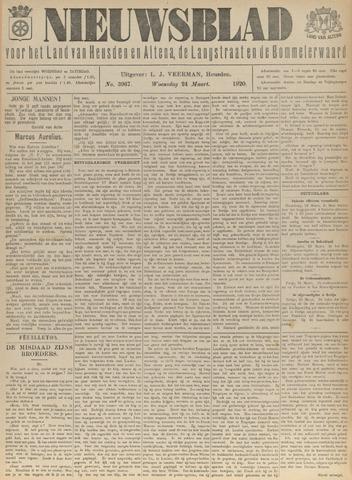 Nieuwsblad het land van Heusden en Altena de Langstraat en de Bommelerwaard 1920-03-24