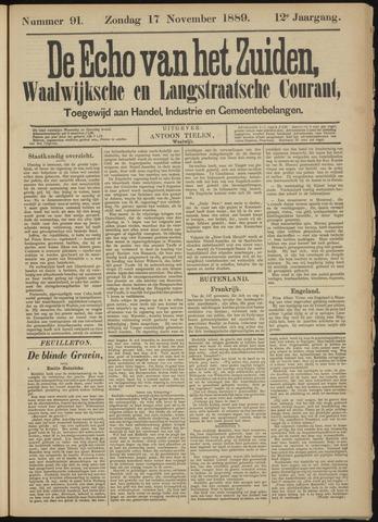 Echo van het Zuiden 1889-11-17