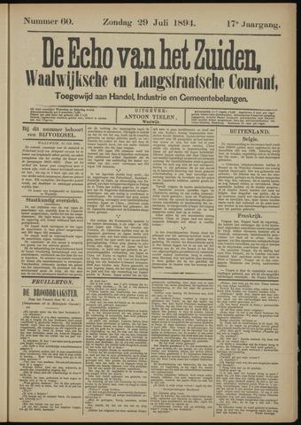 Echo van het Zuiden 1894-07-29