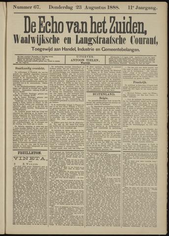 Echo van het Zuiden 1888-08-23