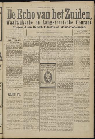 Echo van het Zuiden 1923-11-21