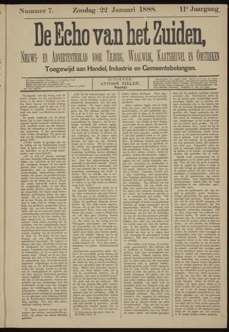 Echo van het Zuiden 1888-01-22