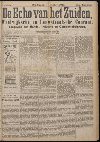 Echo van het Zuiden 1913-10-09