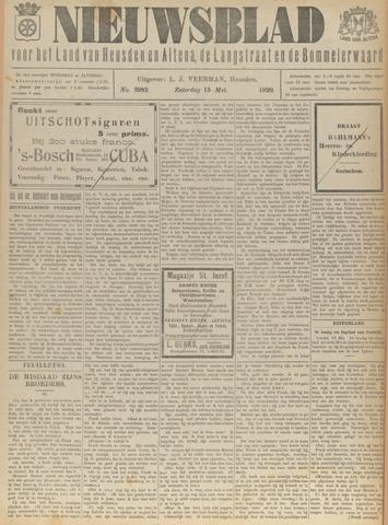 Nieuwsblad het land van Heusden en Altena de Langstraat en de Bommelerwaard 1920-05-15