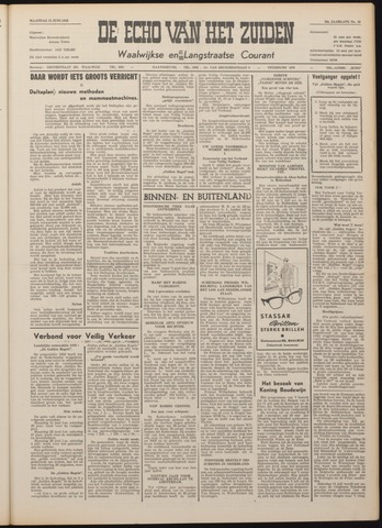 Echo van het Zuiden 1959-06-15