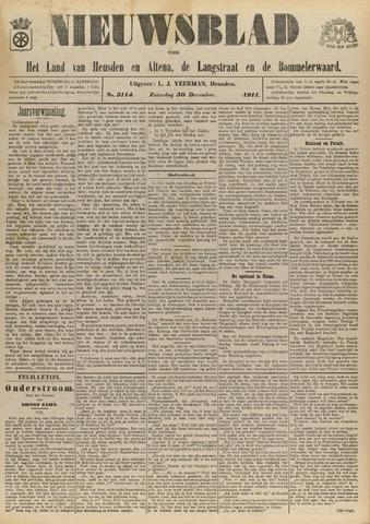 Nieuwsblad het land van Heusden en Altena de Langstraat en de Bommelerwaard 1911-12-30