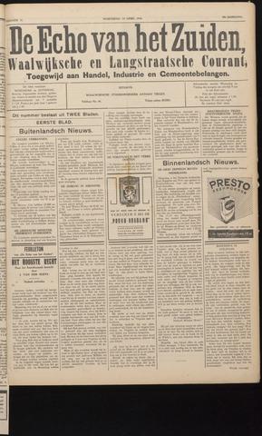 Echo van het Zuiden 1936-04-15
