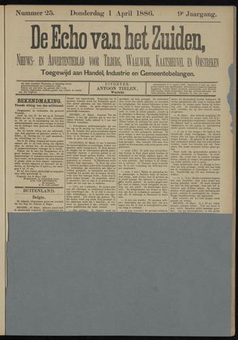 Echo van het Zuiden 1886-04-01