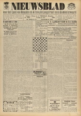 Nieuwsblad het land van Heusden en Altena de Langstraat en de Bommelerwaard 1928-06-08