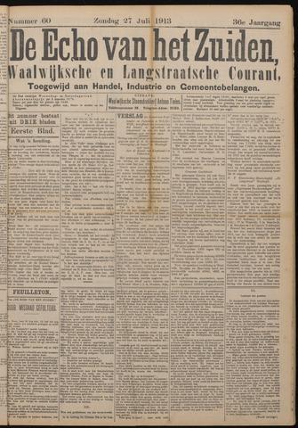 Echo van het Zuiden 1913-07-27