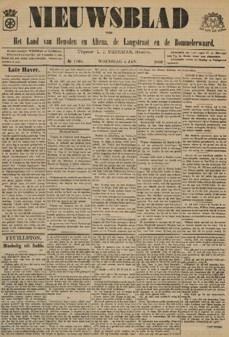 Nieuwsblad het land van Heusden en Altena de Langstraat en de Bommelerwaard 1899-01-04