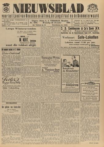 Nieuwsblad het land van Heusden en Altena de Langstraat en de Bommelerwaard 1930-12-24