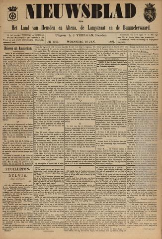 Nieuwsblad het land van Heusden en Altena de Langstraat en de Bommelerwaard 1895-01-16