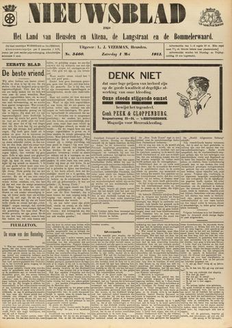 Nieuwsblad het land van Heusden en Altena de Langstraat en de Bommelerwaard 1915-05-01