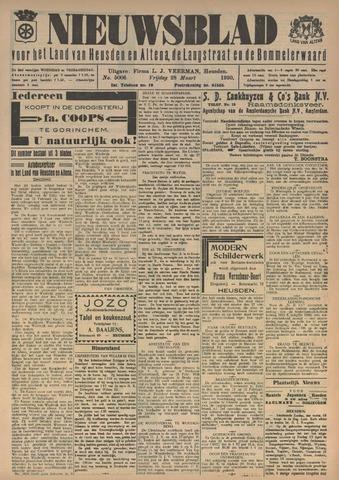 Nieuwsblad het land van Heusden en Altena de Langstraat en de Bommelerwaard 1930-03-28