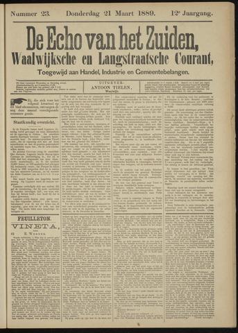 Echo van het Zuiden 1889-03-21
