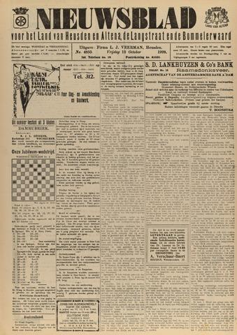 Nieuwsblad het land van Heusden en Altena de Langstraat en de Bommelerwaard 1928-10-12