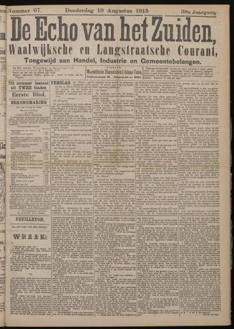 Echo van het Zuiden 1915-08-19