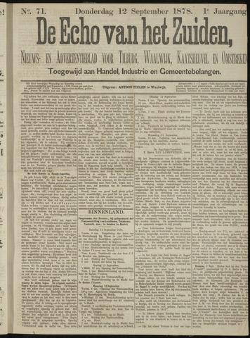 Echo van het Zuiden 1878-09-12