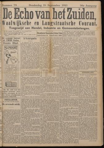Echo van het Zuiden 1913-09-18