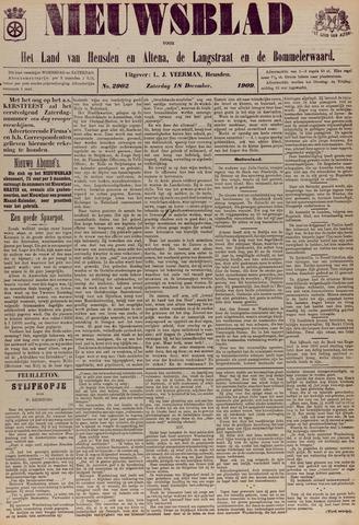 Nieuwsblad het land van Heusden en Altena de Langstraat en de Bommelerwaard 1909-12-18